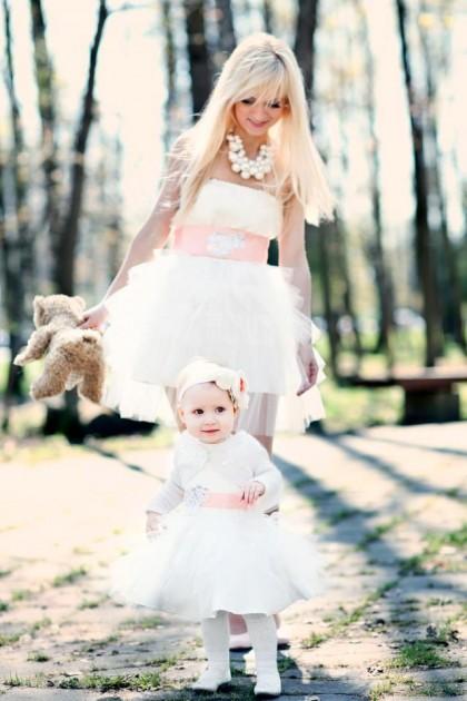 Progines sukneles mamai ir dukrai
