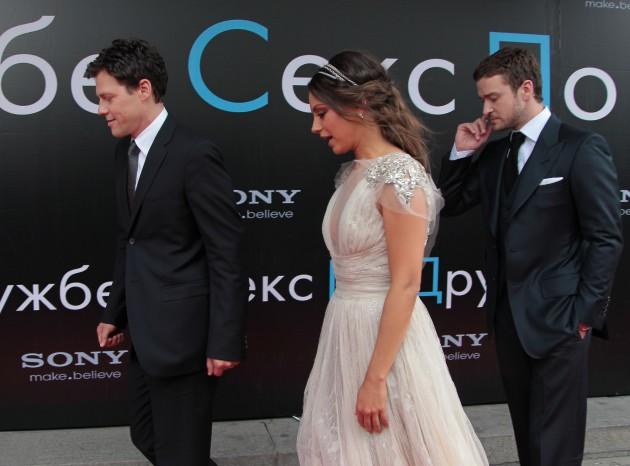 Премьера фильма Секс по дружбе в Москве.