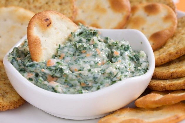 spinach artichoke dip with cream cheese