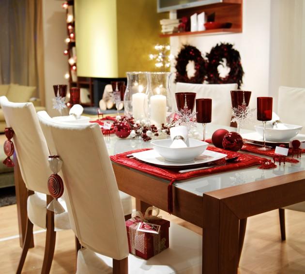 Kal dinio stalo dekoras delfi for Muebles decorados de navidad