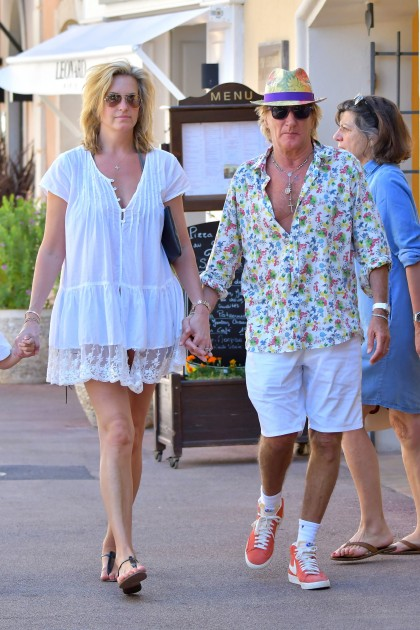 Porn rod stewart with topless women hole
