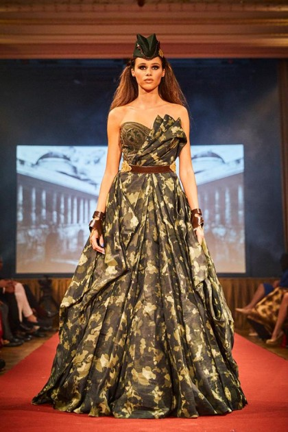 Military Style Haute Couture Collection Of Shantanu Nikhil Highlighted Patriotism In Lithuania Video The Lithuania Tribune