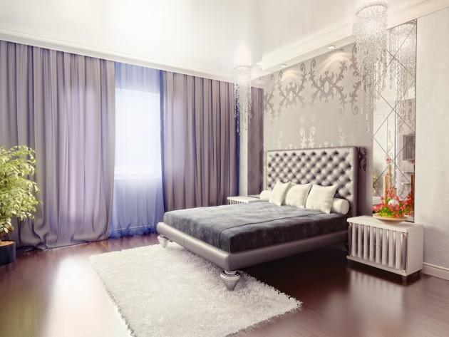 kvepiantis miegamojo interjeras. Black Bedroom Furniture Sets. Home Design Ideas